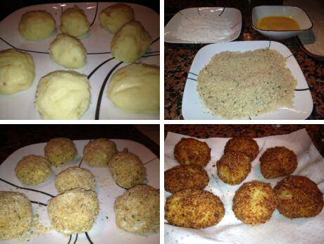 Stap voor stap recept om snel lekkere kroketten te maken met overschot van aardappelpuree
