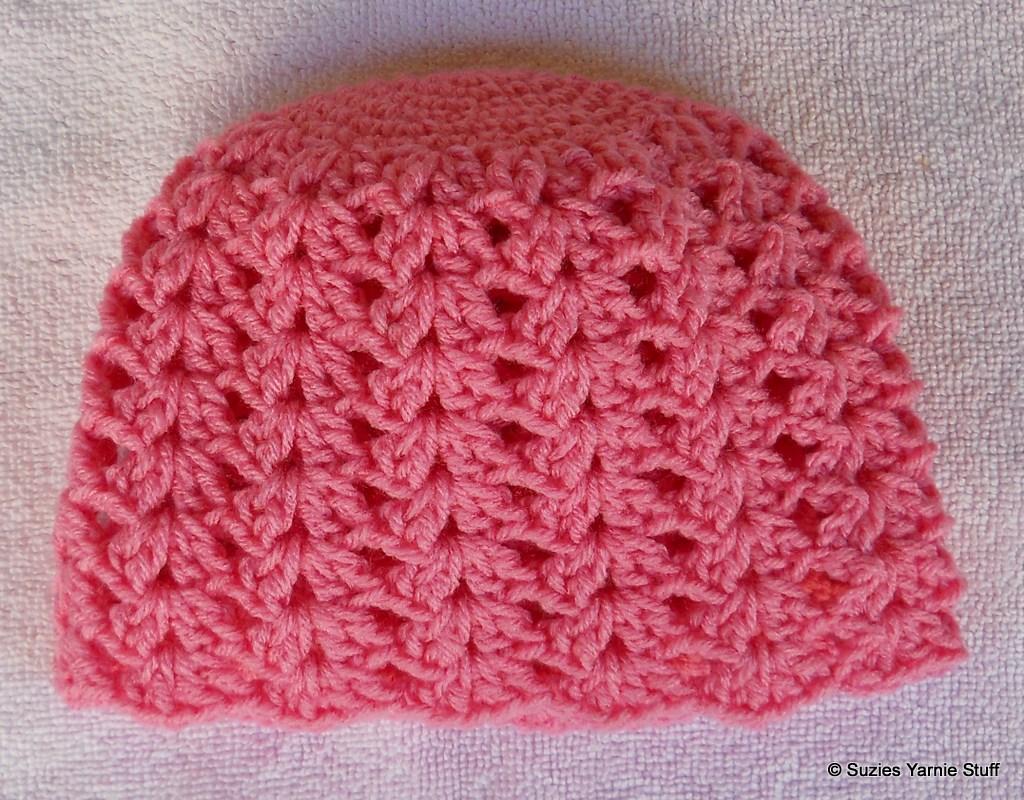 Suzies Stuff Perfect Pink Shells Cap
