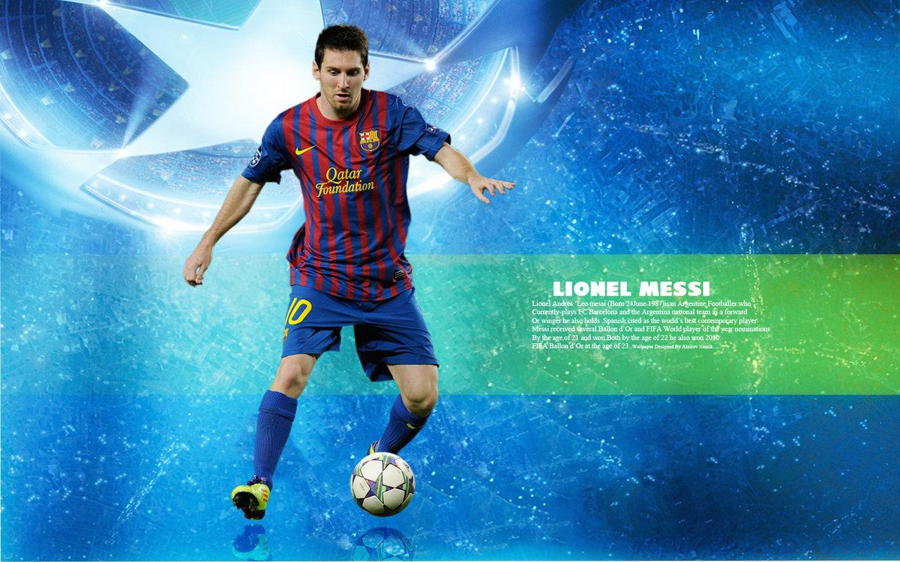 Messi HD Wallpaper 2012
