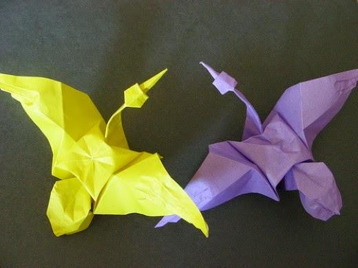 easy origami crane for kids