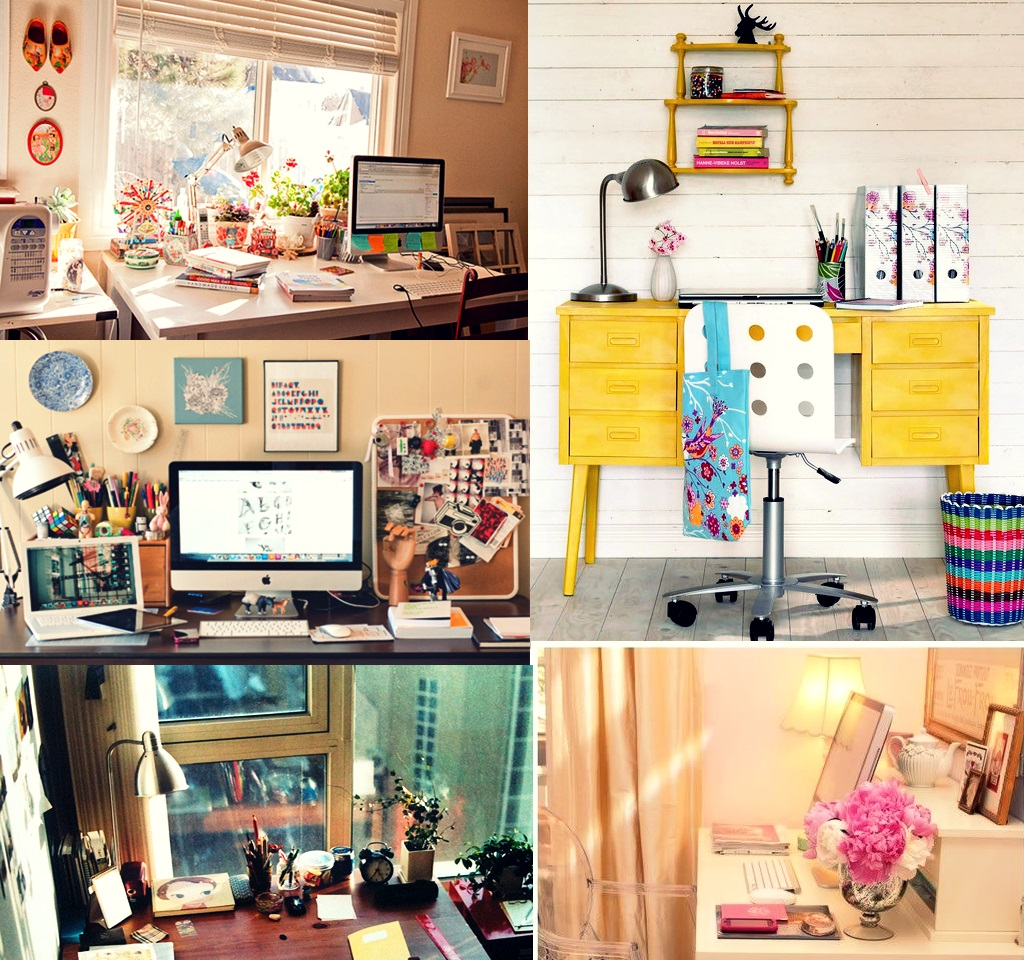 Garota que Treina!: Como organizar escrivaninha mesa de computador  #C1980A 1024x960
