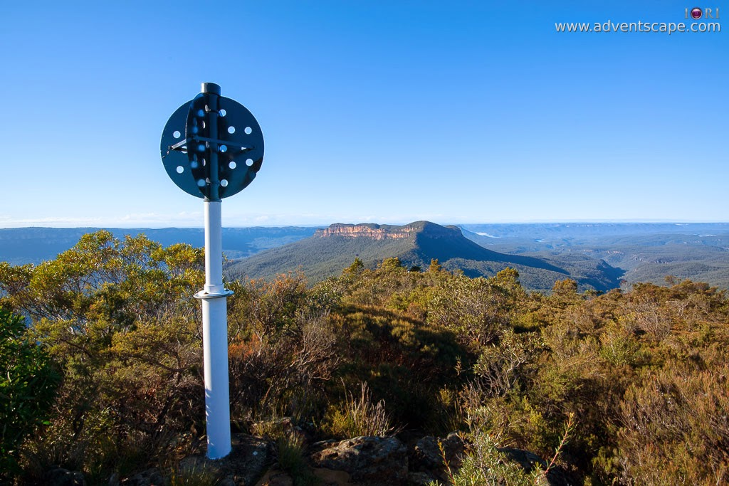 2780, Australia, Australian Landscape Photographer, blogger, Blue Mountain, bushwalk, Castle Head, gate, Glenraphael, Katoomba, lookout, Narrow Neck, New South Wales, NSW, Philip Avellana, sunrise, trail, landmark