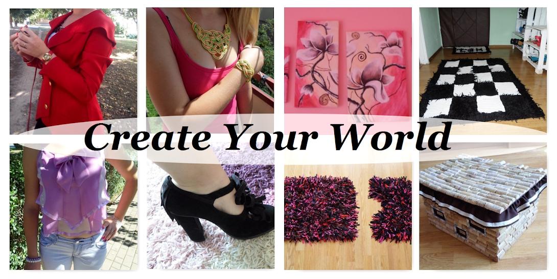 DIY - Zrób to sam, Handmade, Upcykling, Moda, Dekoracje, Inspiracje