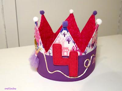 Corona d'anivesari ballarina feta a mà by Enfilades