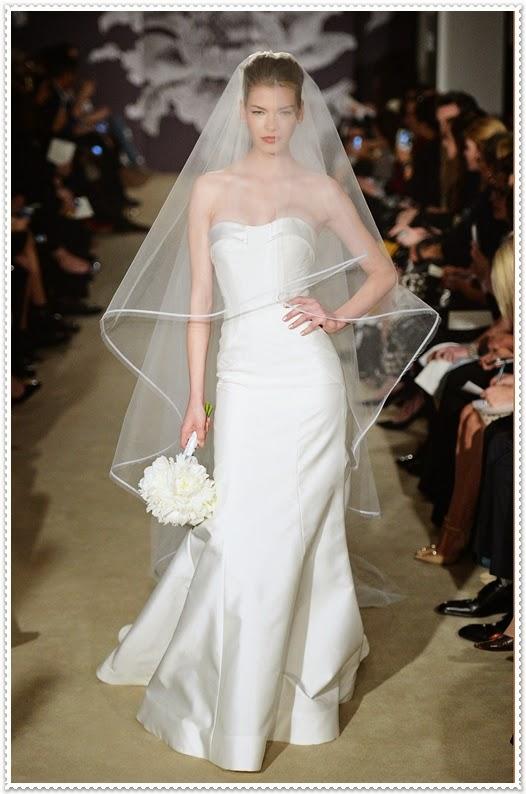Carolina Herrera Brautkleider Kollektion 2015