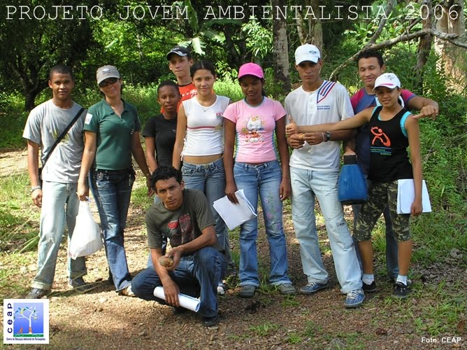 Projeto Jovem Ambientalista turma de 2006 - 1ª turma