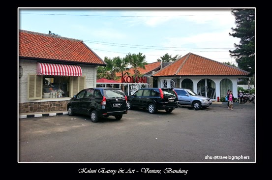 koloni eatery & art-venture, kuliner, bandung, parijs van java, cafe romantis, vintage, restoran bandung, indonesia