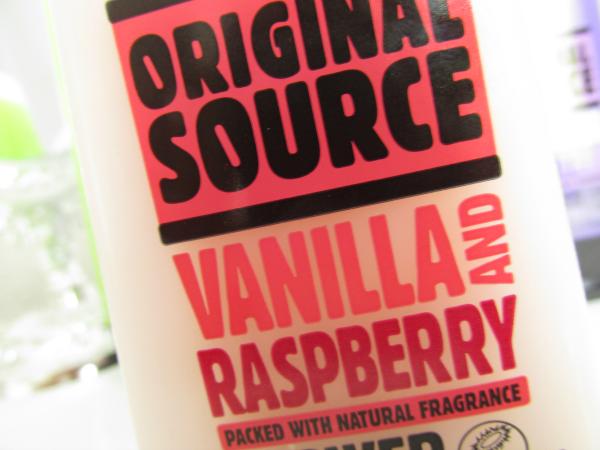 Original Source Vanilla and Raspberry Shower