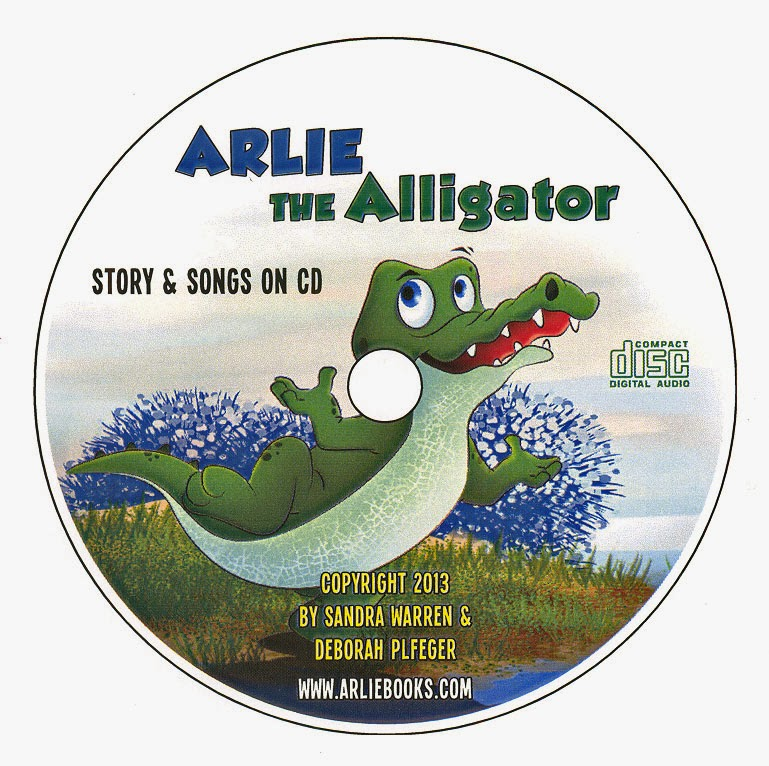 Arlie the Alligator CD
