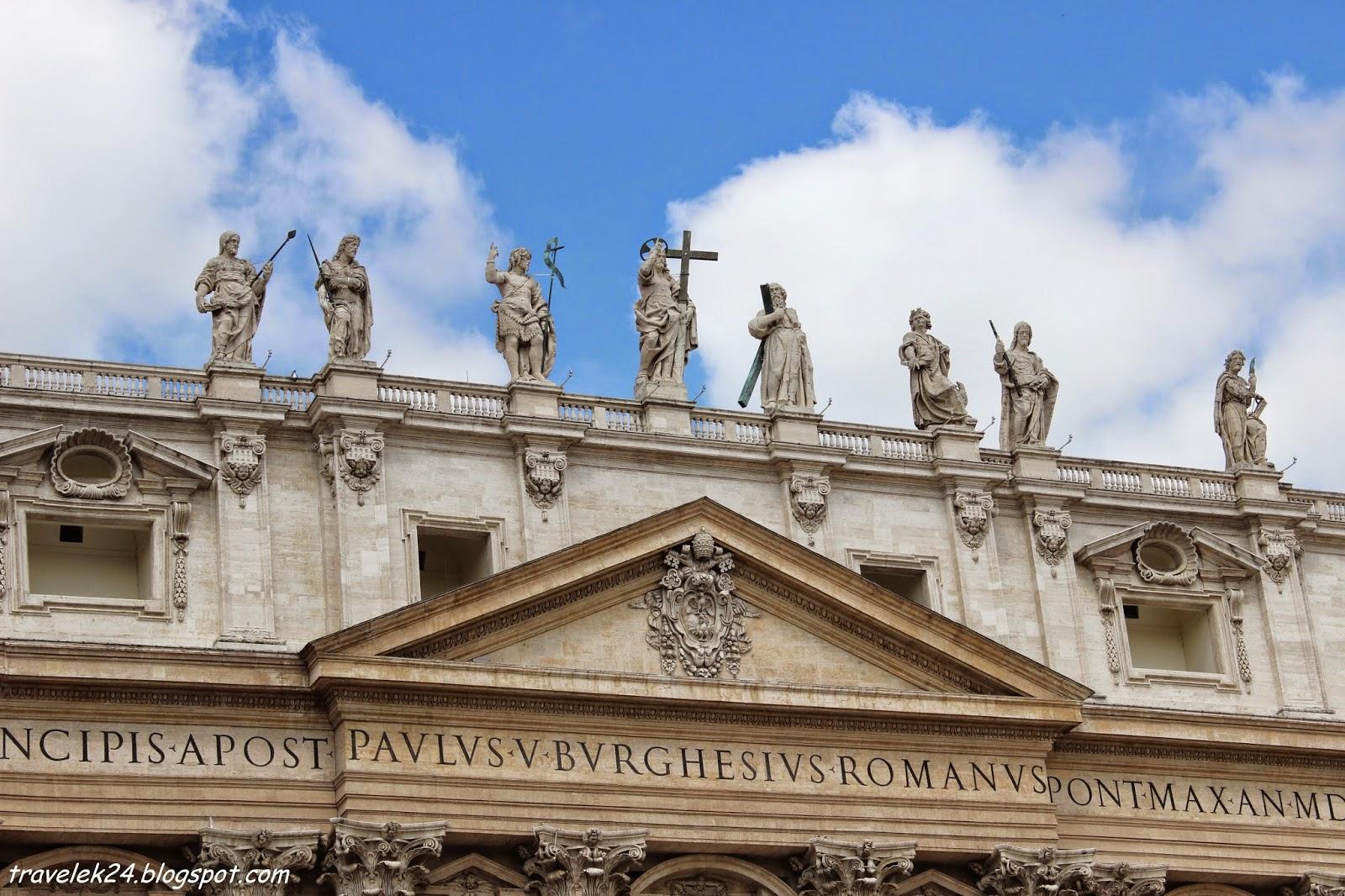 Plac św. Piotra, Watykan