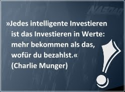 Investiere wie Charlie Munger