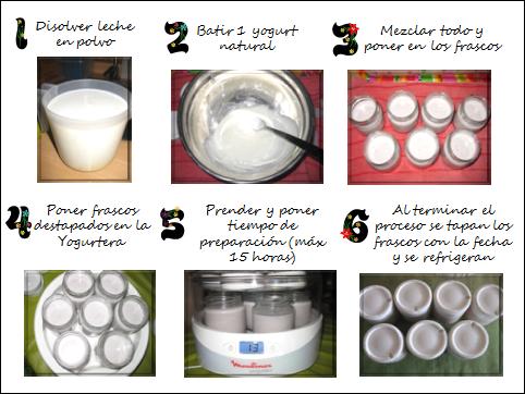 De mamitas c mo hacer yogurt en casa - Como hacer mousse de yogurt ...