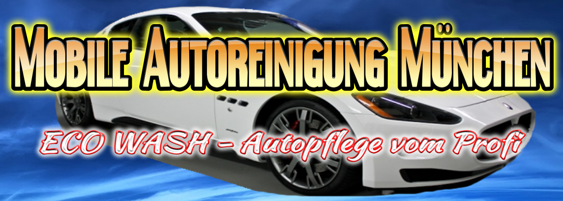 Mobile Autoreinigung Autopflege München vom Profi
