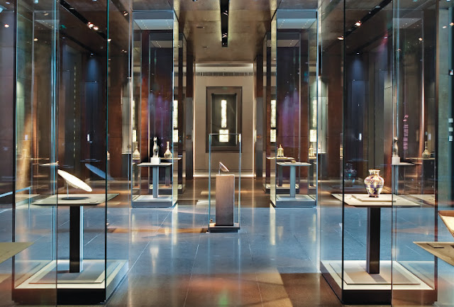 museum interior design museum of islamic art doha jean michel wilmotte. Black Bedroom Furniture Sets. Home Design Ideas