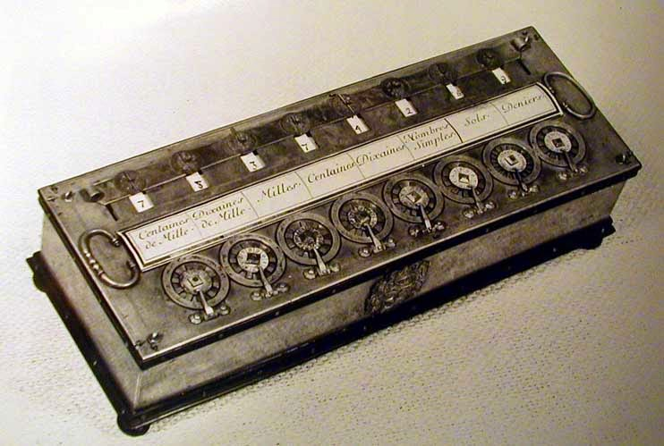 Pascaline or Pascal's Calculator