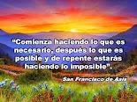 San Francisco de Asís dijo...