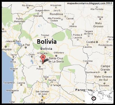 Bolivia , Google Maps