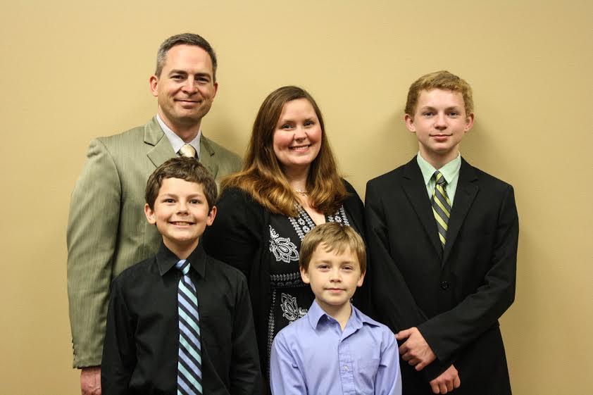 The Nicholas Holcomb Family