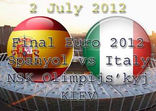 Prediksi Skor Spanyol vs Italia Final Piala Eropa
