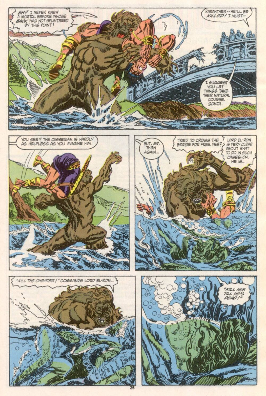Conan the Barbarian (1970) Issue #241 #253 - English 20