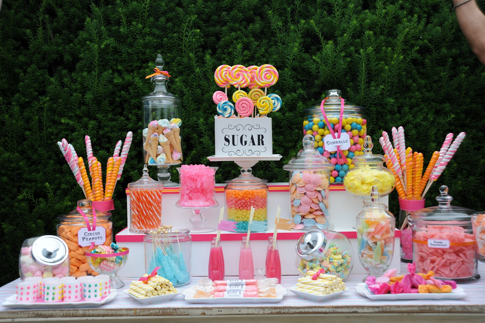 Cuppy Cakes: candy buffet