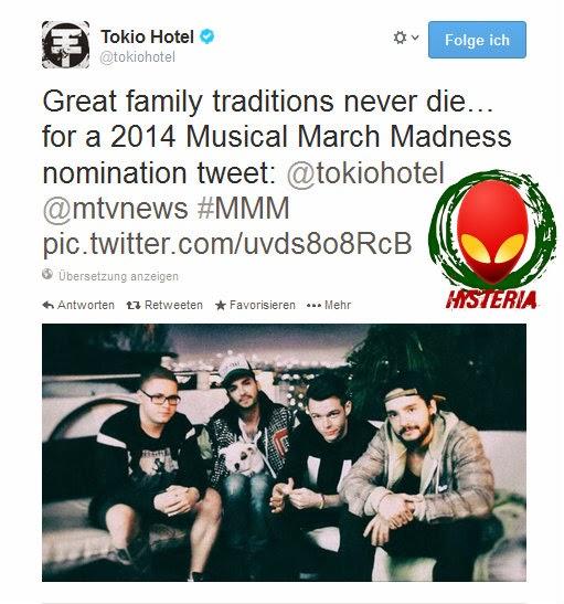 Facebook / Twitter | @ Tokio Hotel 10.03.2014 Post_10