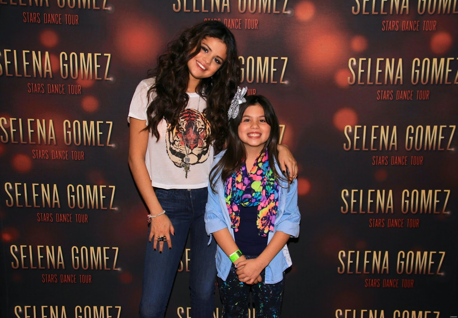 Selena Gomez Style Stars Dance World Tour Meet Greet Broomfield