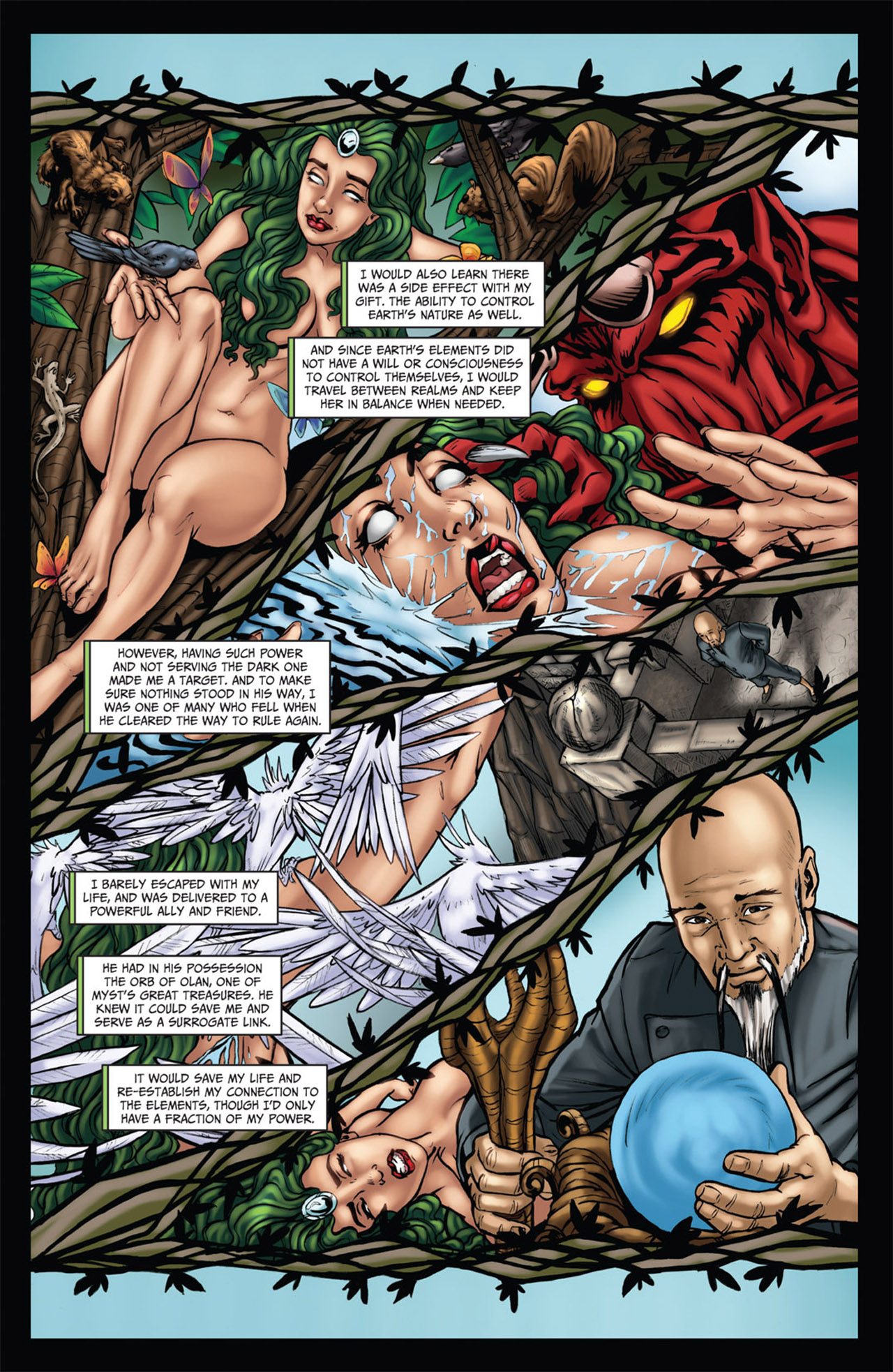 Grimm Fairy Tales (2005) Issue #60 #63 - English 12
