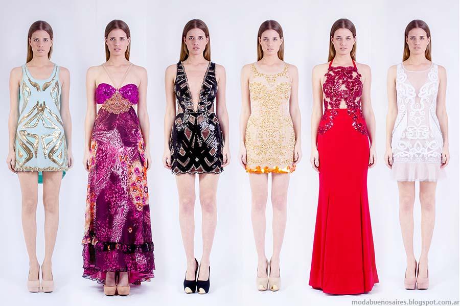 Moda primavera verano 2015. Vestidos de Fiesta 2015 Natalia Antolin.