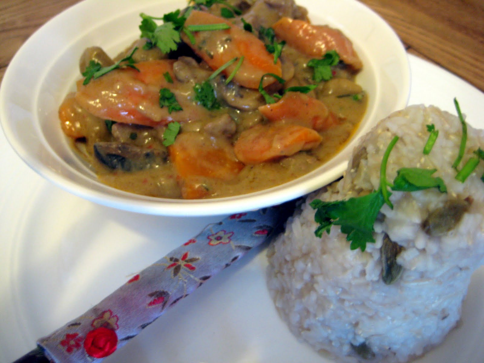 Citrus Beef Curry