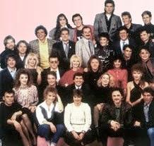 foto gruppo artisti partecipanti al festival di sanremo del 1987