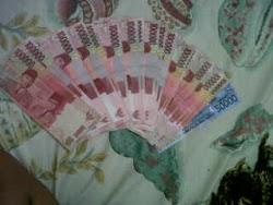 Uang buat ngijing mbah