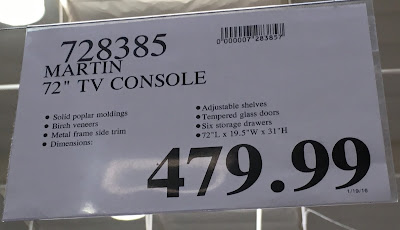 Deal for the Martin Furniture Television Console at Costco