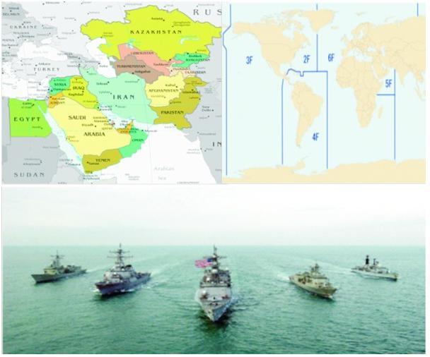மககள தளம The Indian Ocean Battlefield For Dominance - Map of us navy 5th fleet area of responsibility