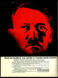 propaganda revista Realidade - 1973. 1973; os anos 70; propaganda na década de 70; Brazil in the 70s, história anos 70; Oswaldo Hernandez;