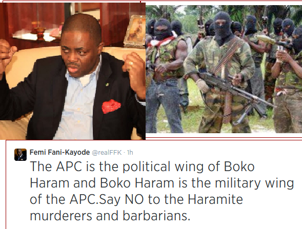"Fani Kayode is Stupid for ""APC Boko Haram"" Comments"