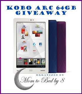 Kobo Arc 64GB Giveaway Button