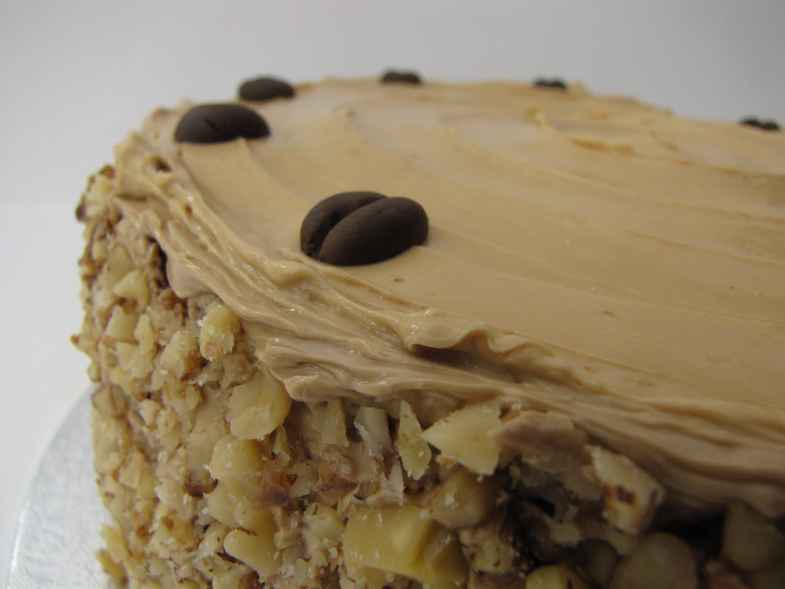 Claire Elizabeth Coffee And Walnut Cake