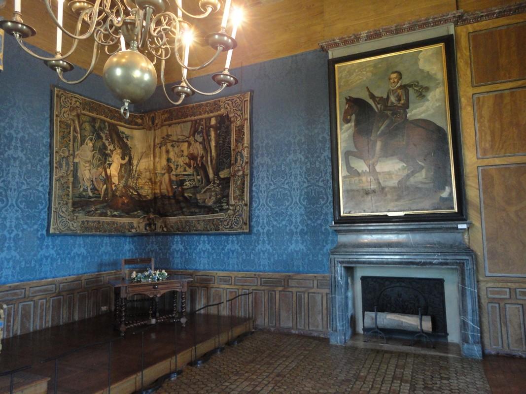 I viaggi di raffaella il castello di sully sur loire for Planimetrie della camera a castello