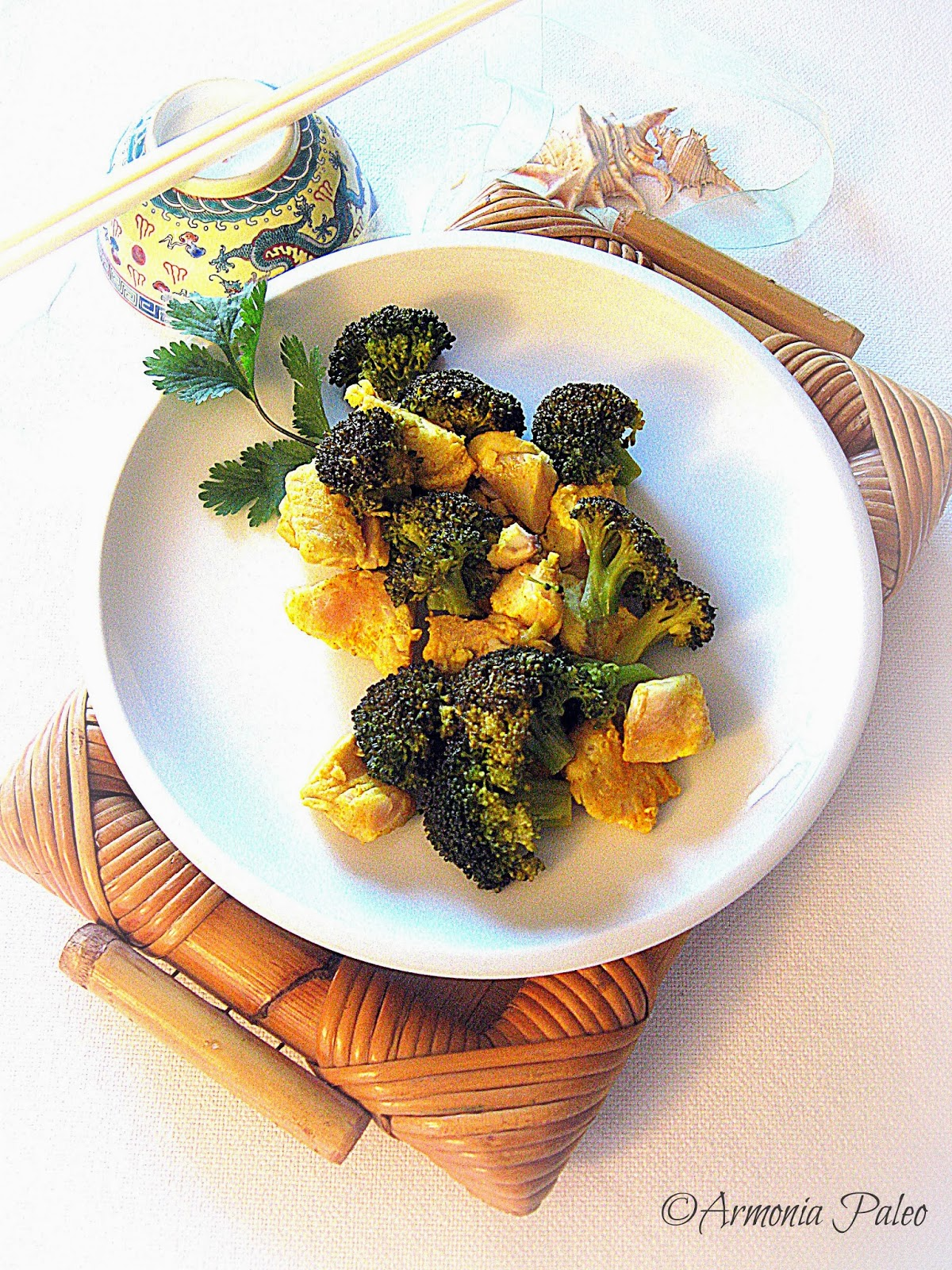 Filetti di Scorfano con Broccoli all'Orientale