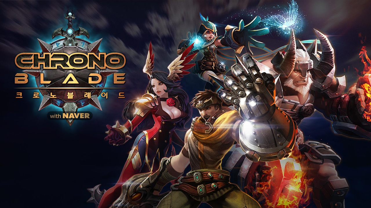 Chrono Blade (크로노블레이드) Gameplay IOS / Android