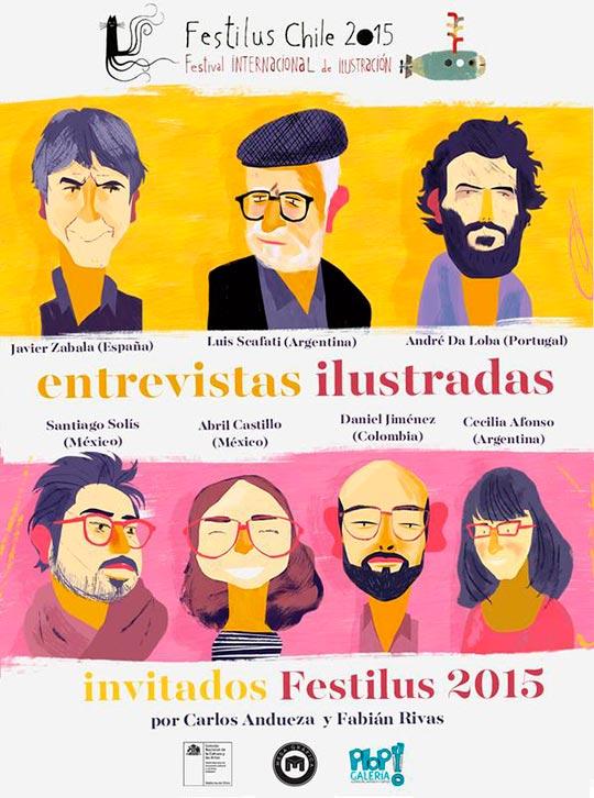 Festival Internacional de Ilustración. Festilus Chile 2015