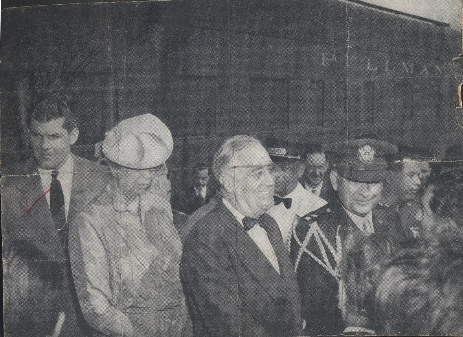GERALD BEHN WITH THE ROOSEVELTS