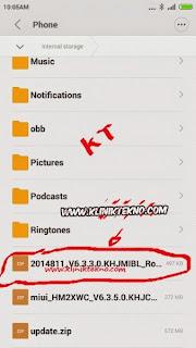 How To Root Xiaomi Redmi Note 4G Lte V6.4.2.0.KHIMICB Single SIM Dan Dual SIM