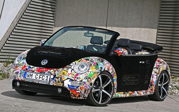 2010 VW New Beetle Convertible