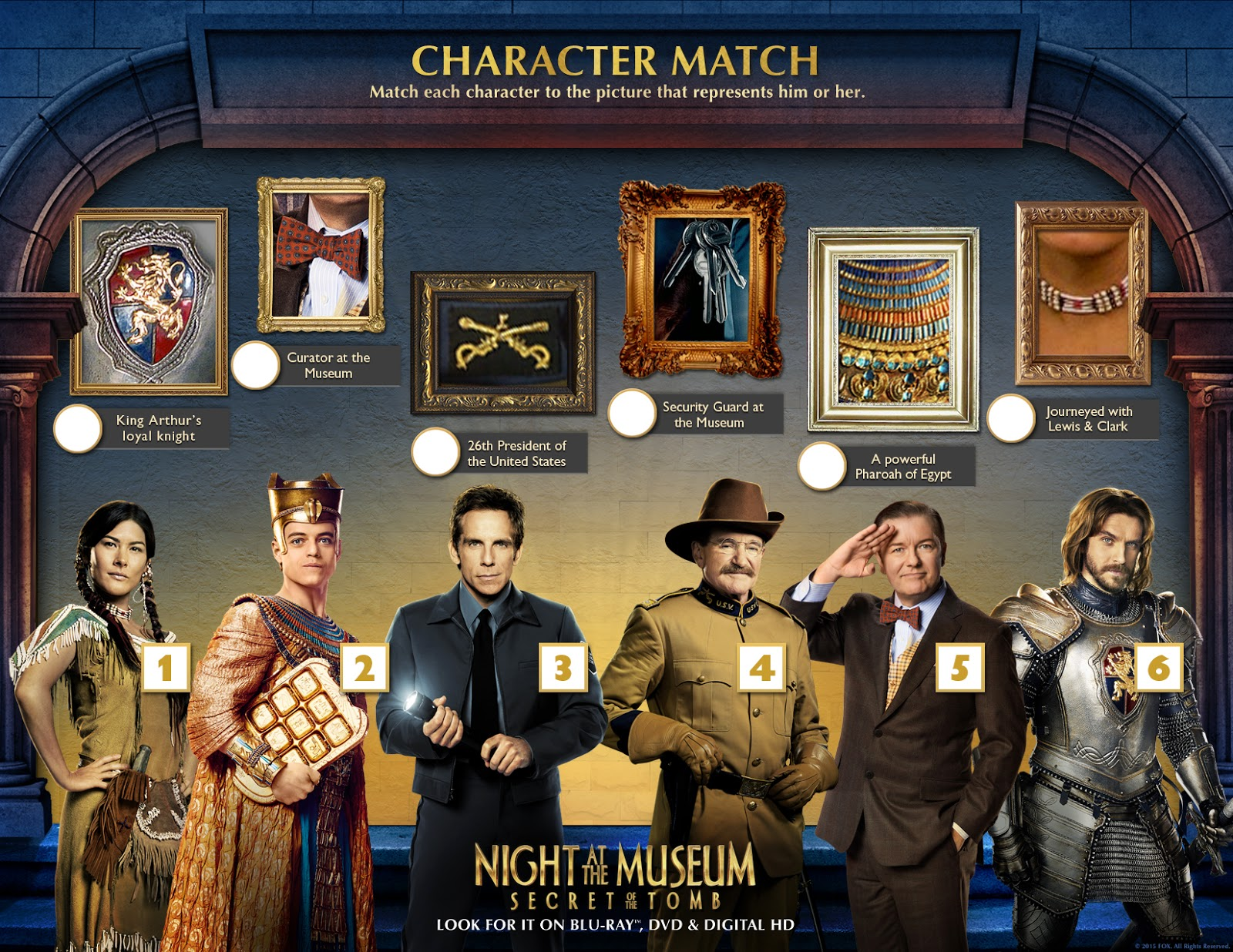 Night at the Museum Secret of the Tomb (2015) Wallpaper  - night at the museum secret of the tomb wallpapers