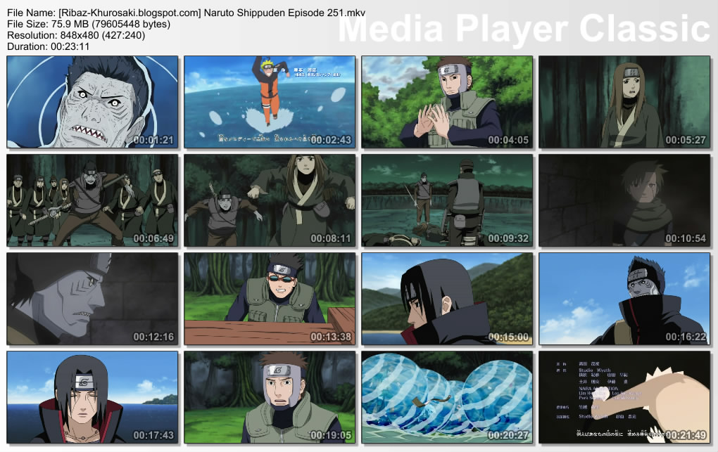 DOWNLOAD FILM ANIME NARUTO SHIPPUDEN EPISODE 251 SUBTITLE BAHASA INDONESIA