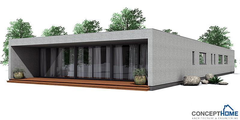 Contemporary house plans contemporary house plan co105 for Modern house plan 2012