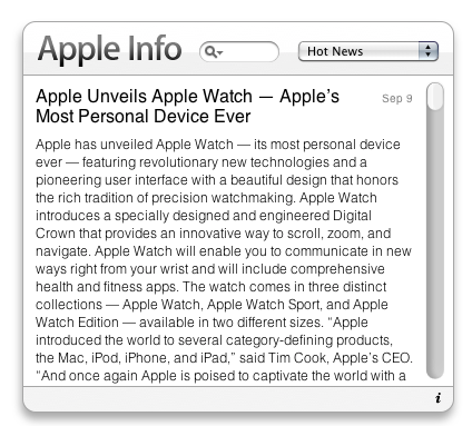 Apple Info