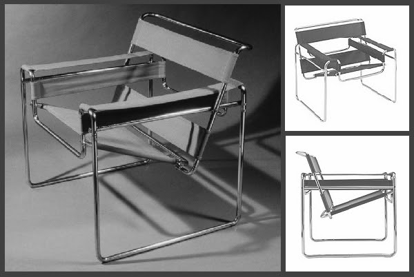 Wassily Chair Drawing Drawings Via Breuerchair